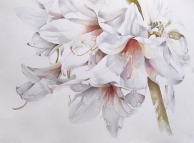 """""""Peace"""" Linda Mullen, watercolor 21""""x29"""""""