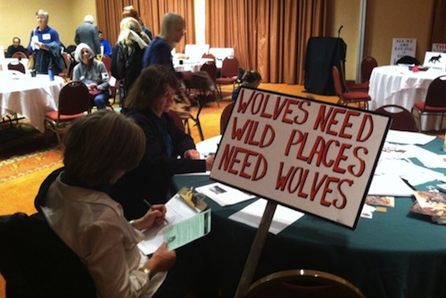 New Mexico Wolf Hearing pc Phil Carter APNM
