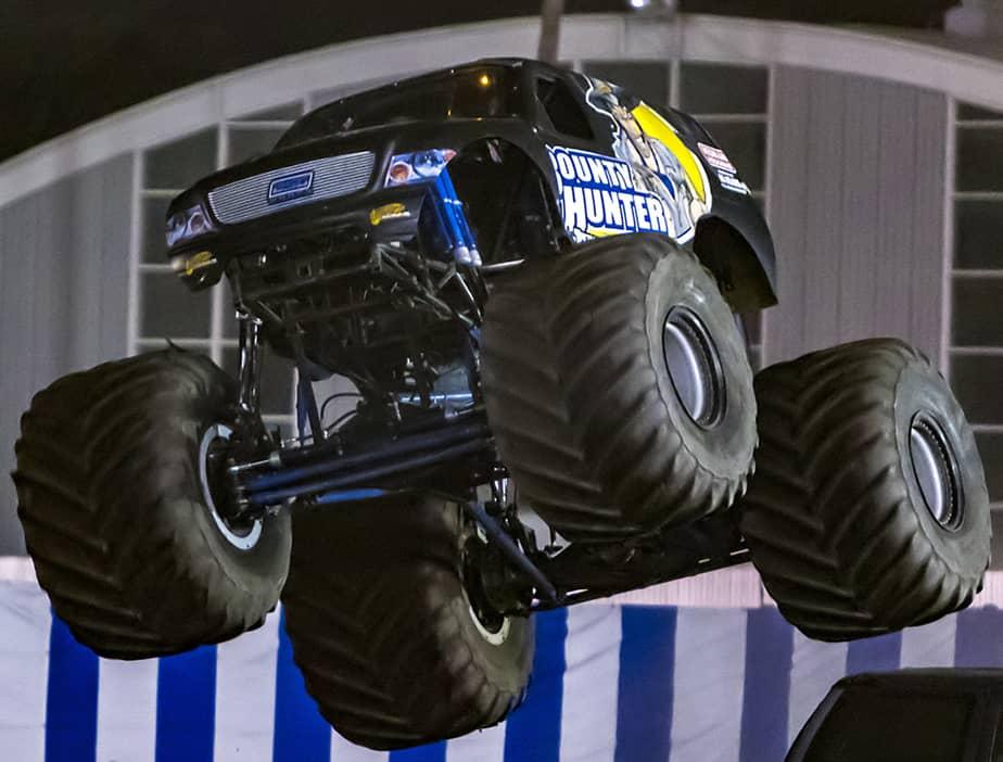 bounty hunter monster truck wgas motorsports