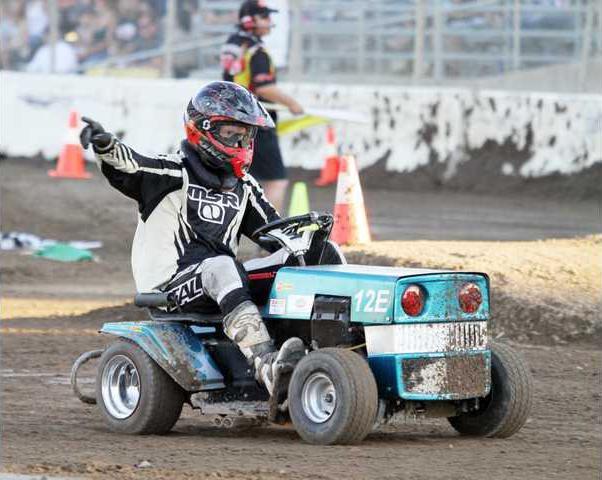 Lawn Mower Racing WGAS Motorsports
