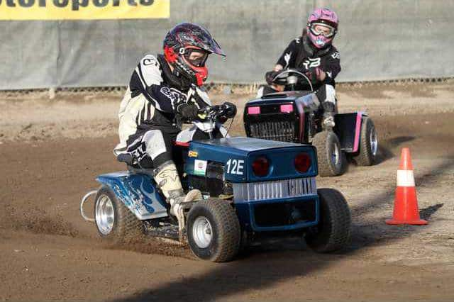 Lawn mower races wgas motorsports 3