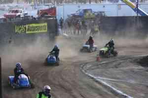lawn mower racing riverside county fair wgas 2
