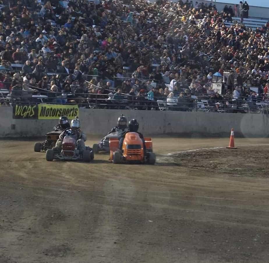 lawn mower racing wgas motorsports 2