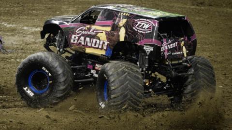 Scarlett Bandit Monster Truck