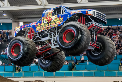 Wicked Strong Monster Truck Del Mar Jim Allen