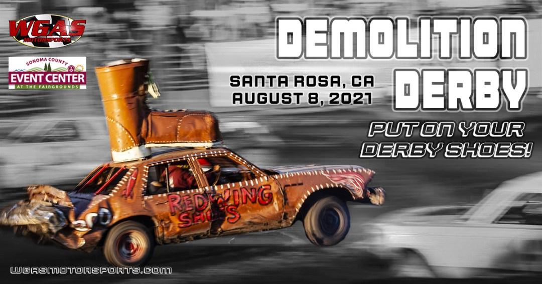 Demolition Derby Santa Rosa CA August 2021