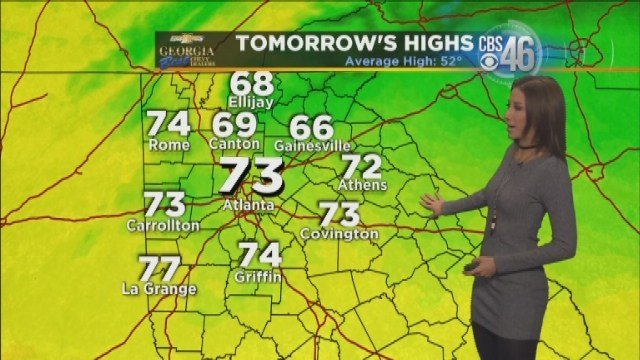 Christmas Weather Forecast For Atlanta CBS46 News