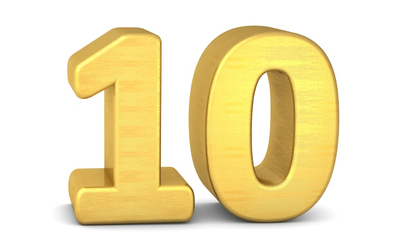 Top Ten Solid Gold Tips for Success in High Performance Sport.