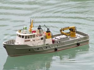 Canadian Buoy maintenance vessel