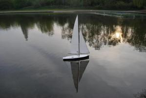 Yacht at Stanborough