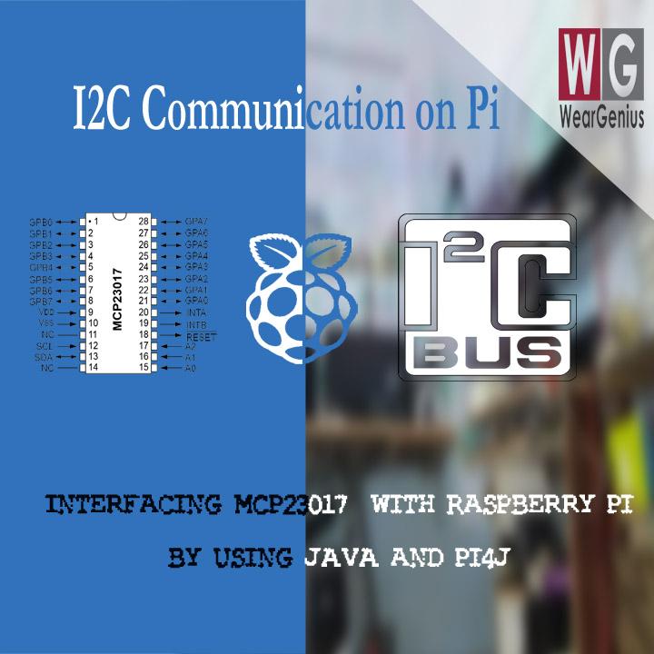 MCP23017 with raspberry Pi using I2C Communication