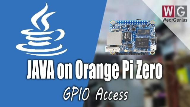Orange Pi Zero GPIO