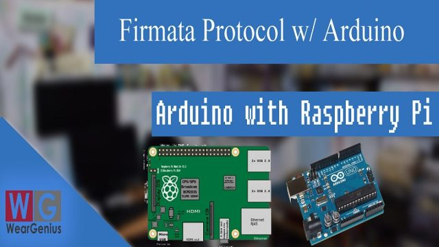 Firmata with Arduino and Raspberry Pi