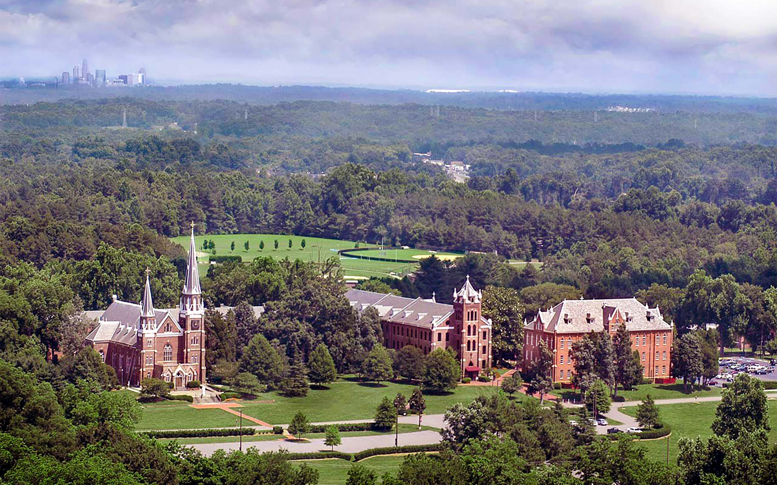 Belmont Abbey College Masterplan