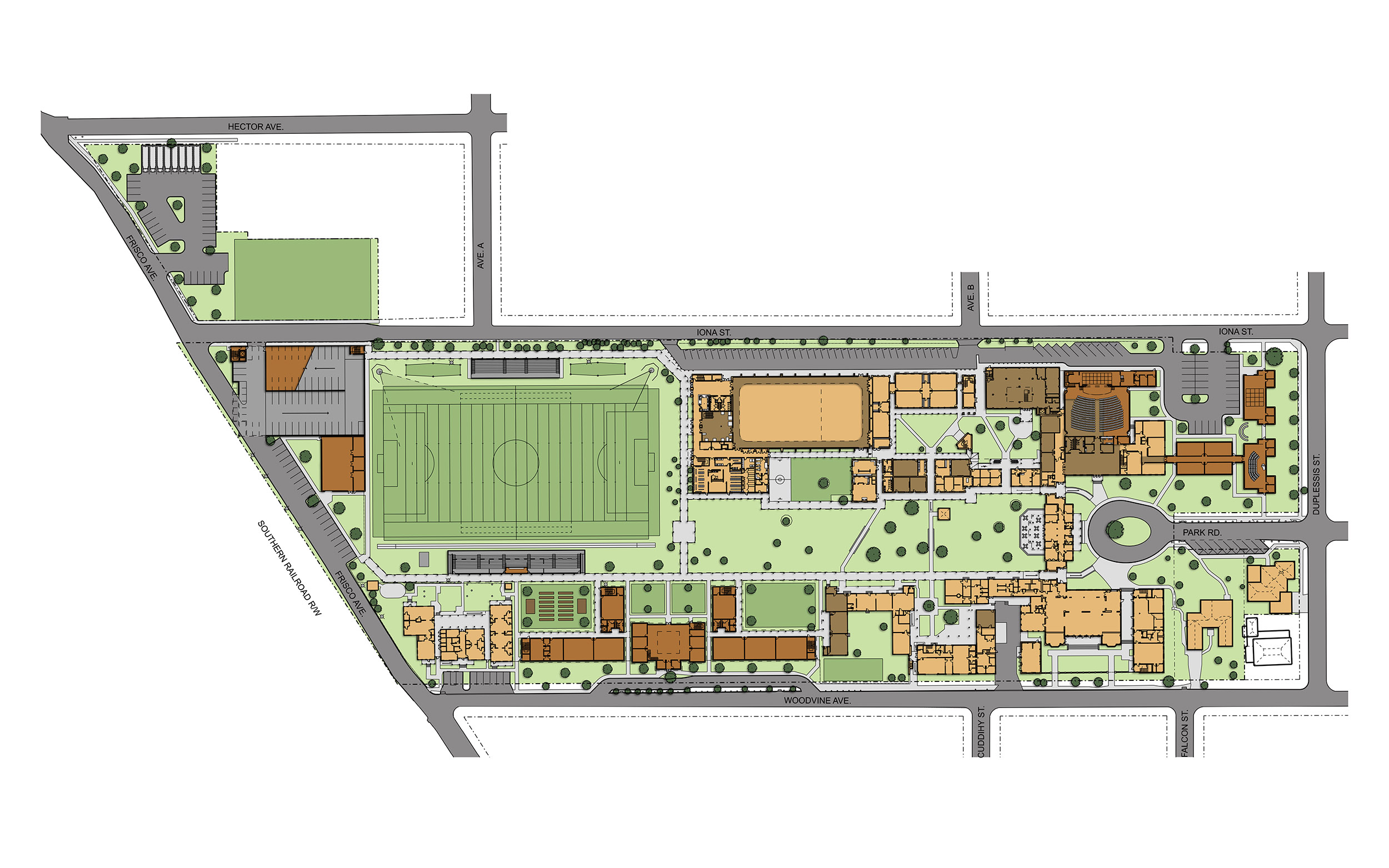 Metairie Park Country Day School Masterplan