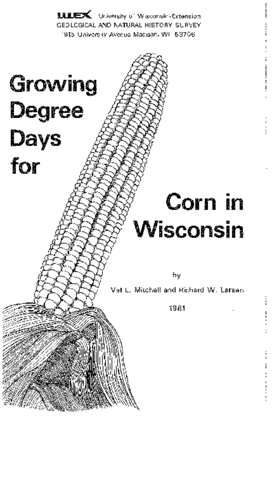 Wisconsin Geological & Natural History Survey » Growing