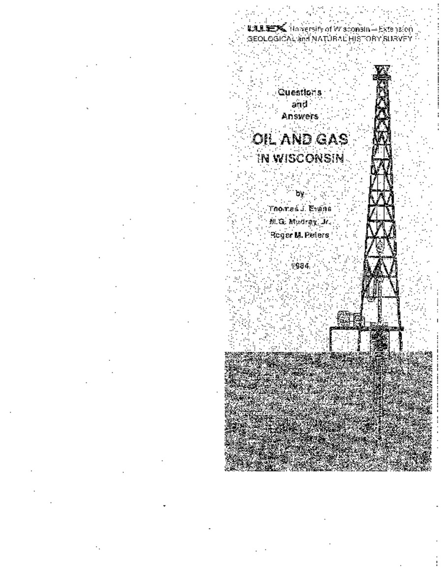 Wisconsin Geological & Natural History Survey » Oil and