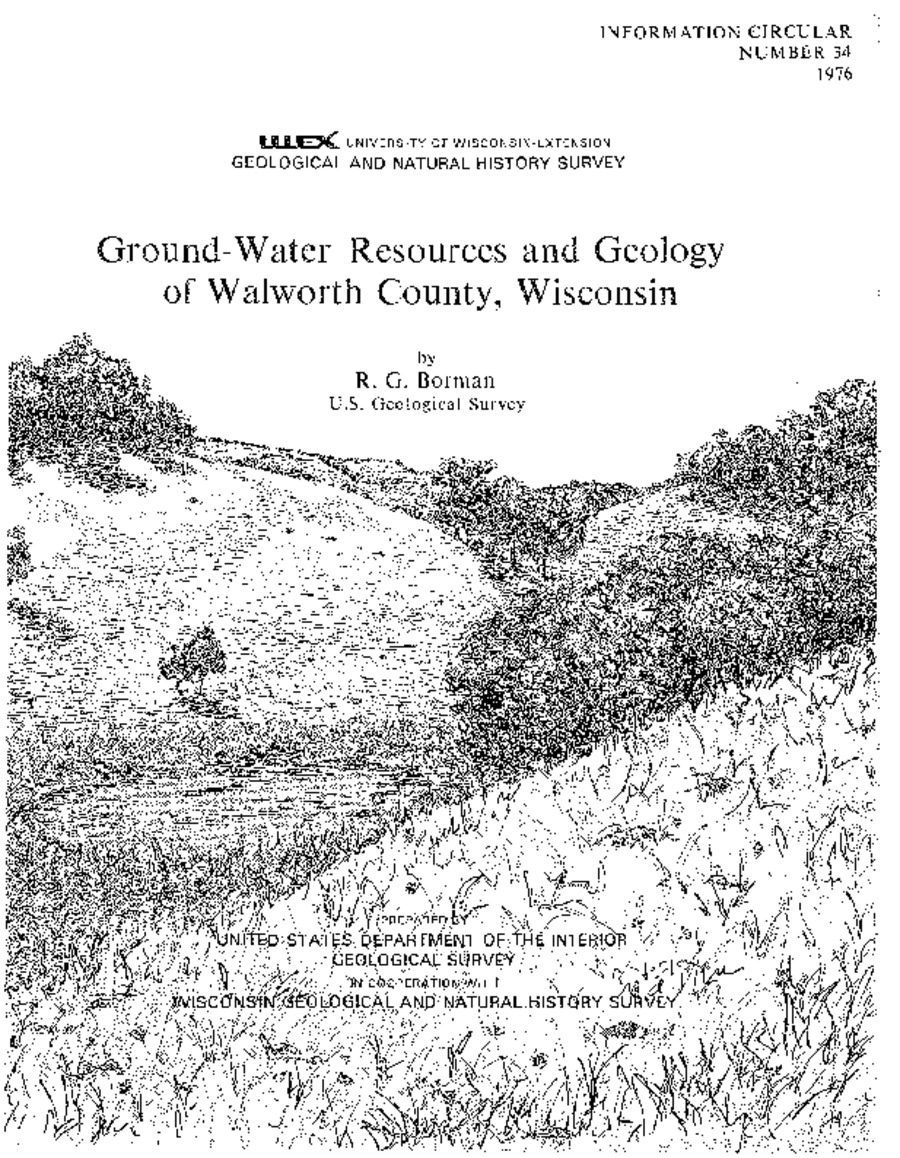 Wisconsin Geological & Natural History Survey » Ground