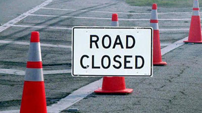 Road Closed Cones-400×225