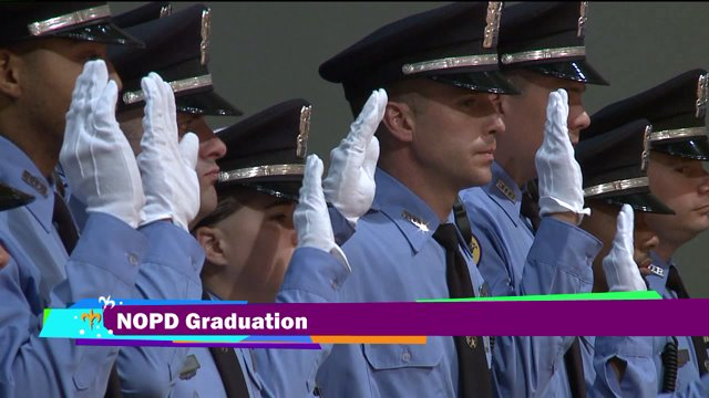 NOPD graduates 23 new recruits