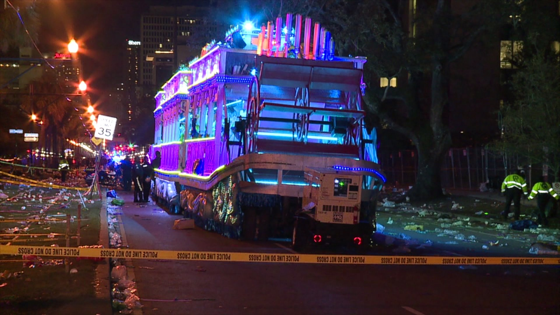 Read Statements From Several Mardi Gras Krewes Regarding Parade