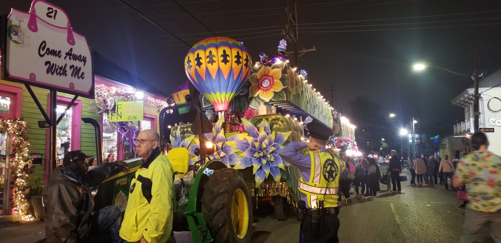 New Orleans parade float