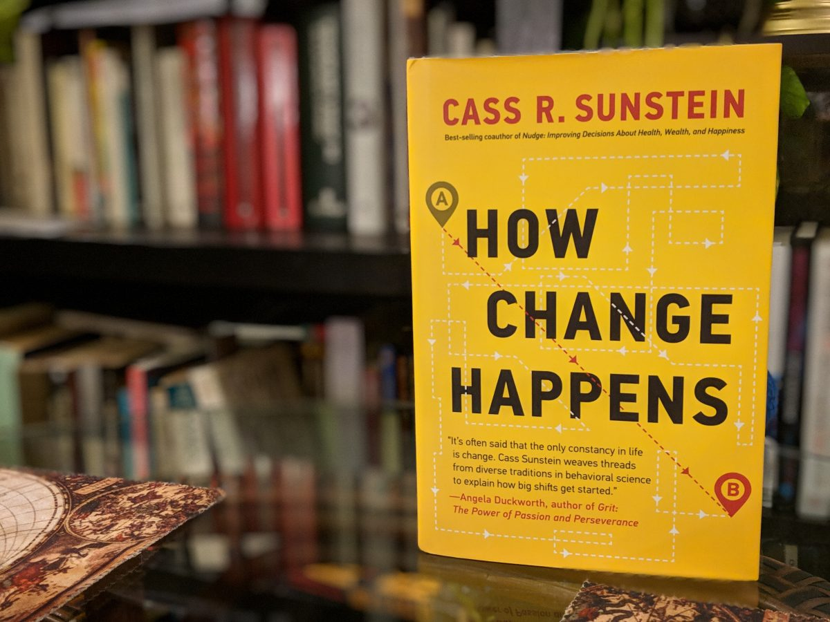 """How Change Happens"" by Cass Sunstein"