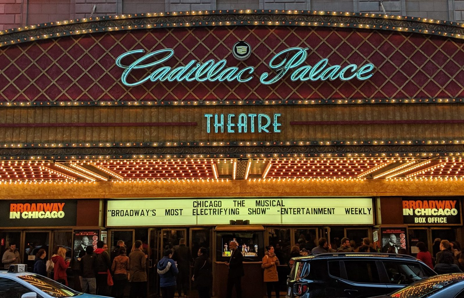 """Chicago"" at the Cadillac Palace Theatre"