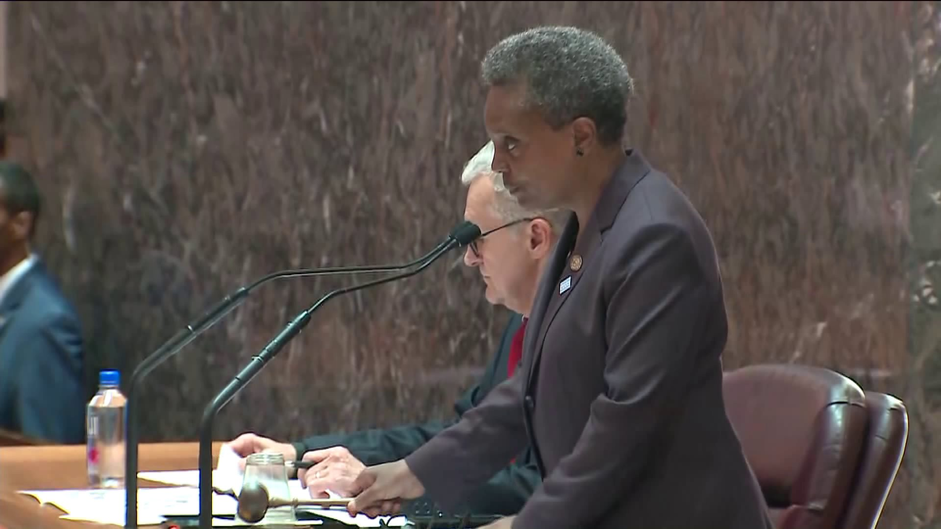 Lightfoot Shuts Down Burke During First City Council