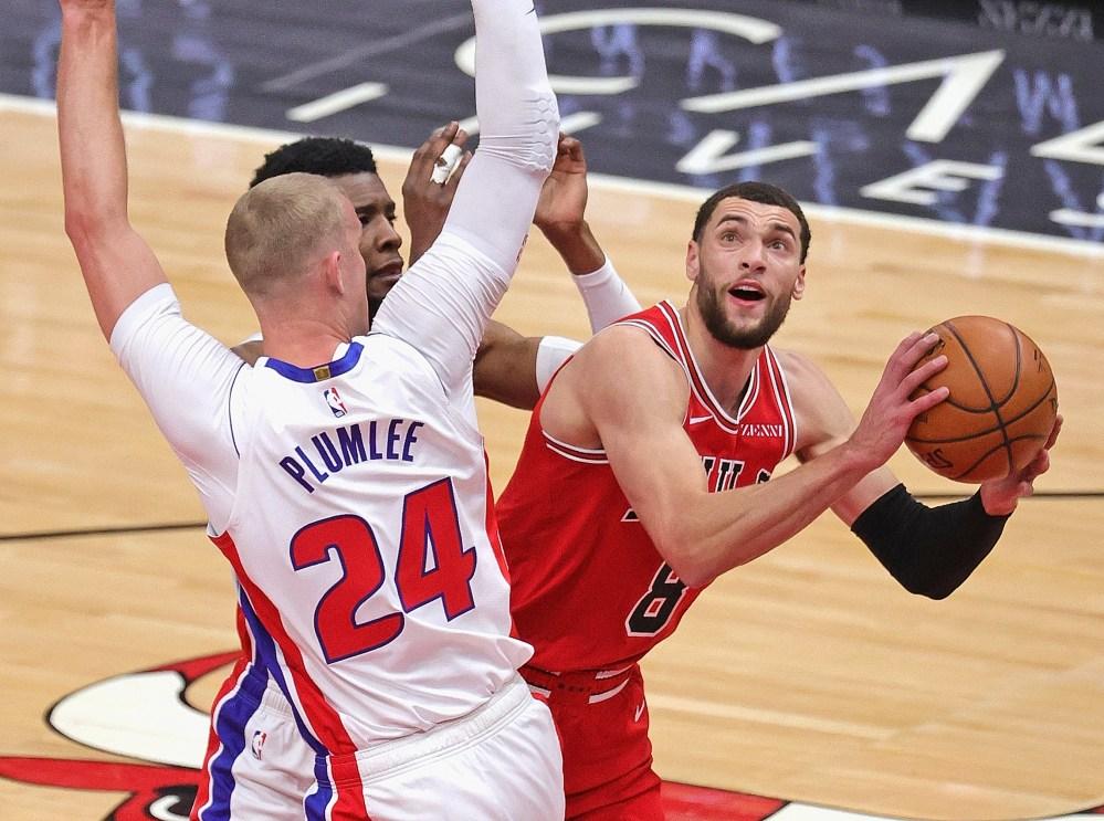 Αποτέλεσμα εικόνας για Chicago Bulls - Detroit Pistons 105-102