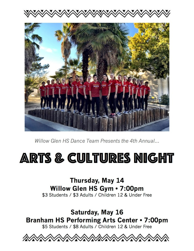 Arts and Cultures Night Poster v1