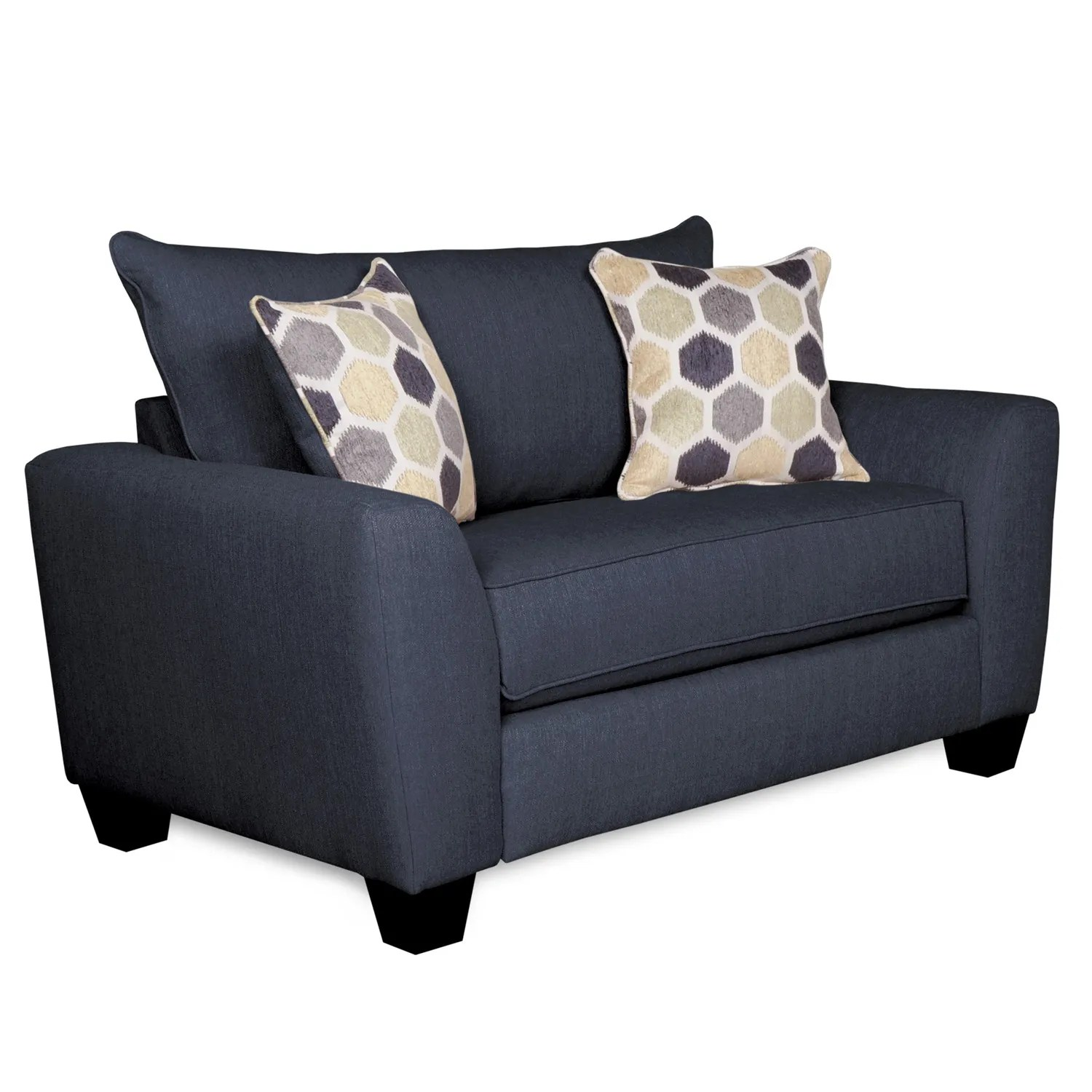 sleeper chair office with no arms sofa downtown blue twin