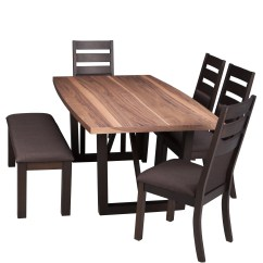 Dining Table And Chair Sets Recliner Sofa In Appleton Wi Wg R Furniture Victoria 6 Pc Package