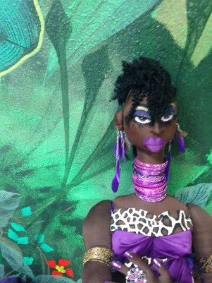 """Jungle Beauty: Goddess Namib"" by Cassandra George-Sturges"