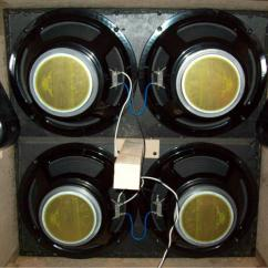 8 Ohm Speaker Wiring Diagrams 7 Prong Winch Switch How To Properly Wire A 4x12 Cabinet Warehouse Guitar Speakers Here Is Pic Of The In His Marshall Cab With New Wgs Green Berets Installed Looks Like Good Clean Job
