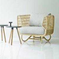 NEST Footstool / Ottoman - Cane-line Collection - WGU Design