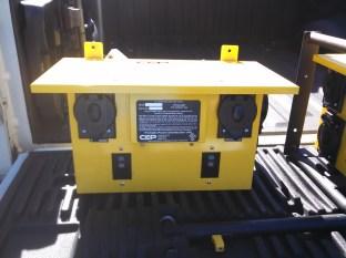 Wall mount temp box in field