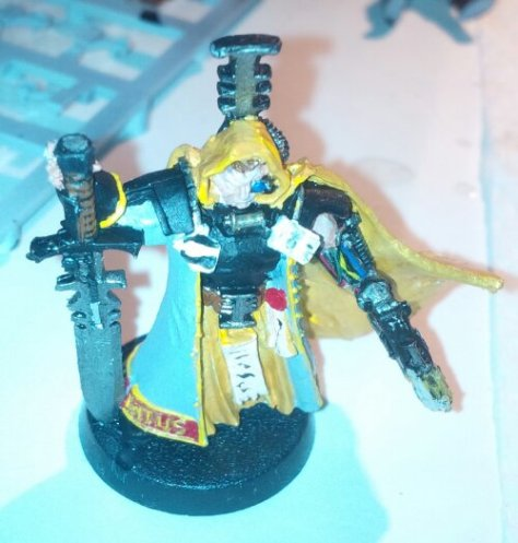 Inquisitor Warhammer 40k Model, painted