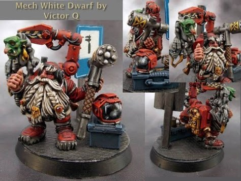 Example White Dwarf Techpriest (image source)