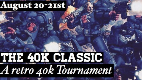 """Banner for the Lords of War 40k """"Classic"""" Tournament"""