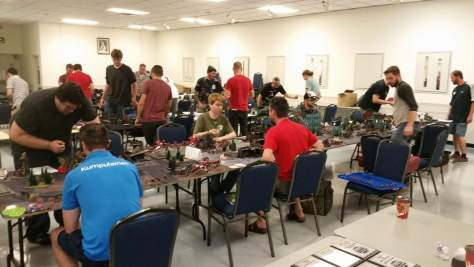 Photo of the tournament underway