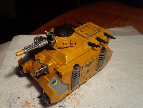 My Rhino/Chimera conversion that was well-received by many at the tournament