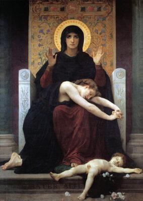 Bouguereau, Virgin of Consolation