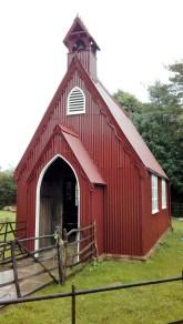 """The prefab """"tin church"""""""