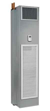 Vertical stack fan coil systems and equipment from The Whalen Company HVAC industry pioneer in