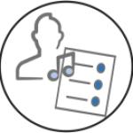 Artist/Recording Icon