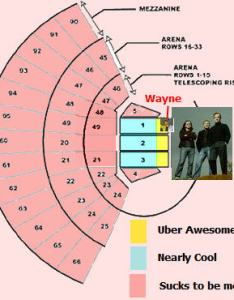 Correct seating chart for rush in austin at frank erwin center also the blog of whall rh