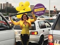 Traffic Light Promoter Girls