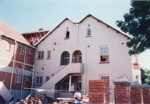 The renovations begin, 63 Windemere Road, 1997