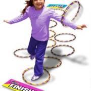 Hula-Hoop-Hopscotch